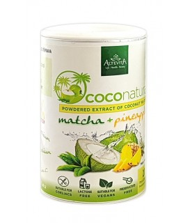 Altevita COCONATURAL – MATCHA – PINEAPPLE 140g