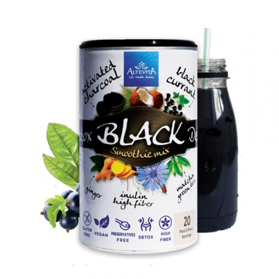 Altevita BLACK DETOX SMOOTHIE MIX 140g