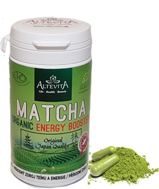 Altevita MATCHA energy Booster 80 kapsúl